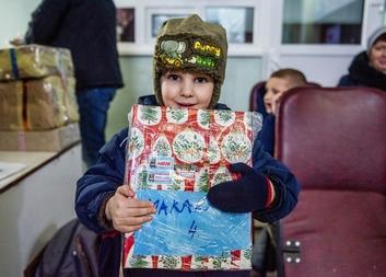 Mikulášská nadílka potěší potřebné děti na Ukrajině i v roce 2020